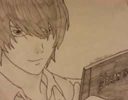 Light from Death Note by Crimson-Ripper