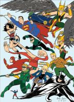My Justice League Cover Now by WibbitGuy