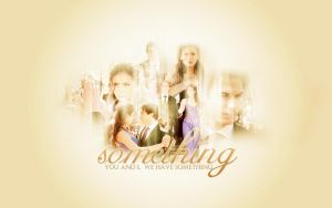 Damon+Elena Wallpaper by memorabledesign