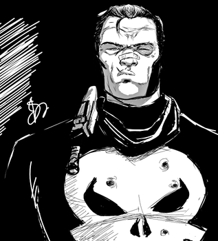 the punisher by willwoosharon