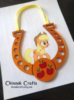 My Little Pony MLP - Apple Jack - Magic Horseshoe by ChinookCrafts
