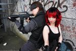 Metal Gear Solid cosplay 001 by Grethe--B