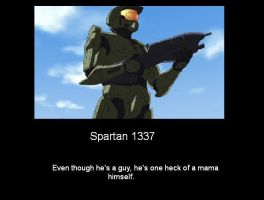 Spartan 1337 DMP by OmegaDeath01