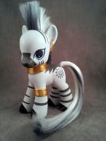 MLP custom - Fashion Style Zecora by hannaliten