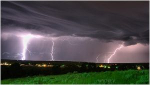 Lightning from Klondike by wyorev