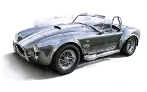 "Illustration - ""AC Cobra"" by Jack85"