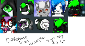 $3 dallor icons by ivygaara