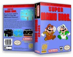 Super Mario Bros Custom Cover by TuxedoMoroboshi