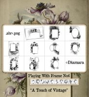 Playing With Frame No6 by Diamara