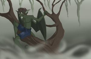 In the swamp by Thomisus