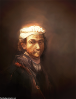 Rembrandt by FoxInShadow