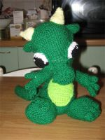 Baby Dragon Crochet by Little-Vampire
