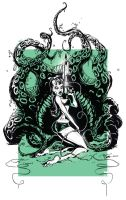 Cthulu Girl by abnormalbrain