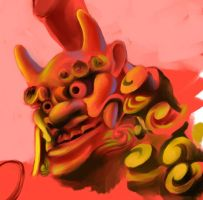 Oni Sketch by gtgauvin
