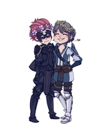 Gerome and Inigo by Frost-Kite