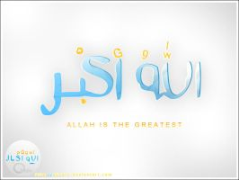Allah is the greatest by AboArb