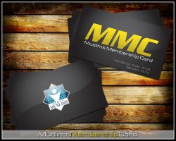 Muslims Membership Card by sarakhanoom