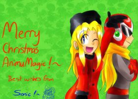 Merry Christmas AnimuMagic! by Sonicbandicoot