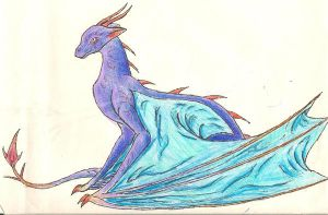 Kriede Patchwork Dragon 2 by theunicorniswatching