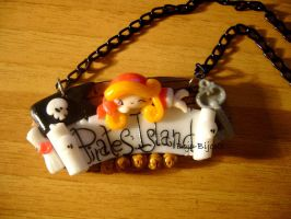 "Necklace ""Pirates' Island"" by Bojo-Bijoux"