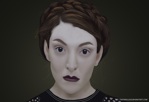 Lorde by TheONeillius