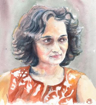 Arundhati Roy by embrand78
