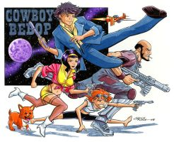 Cowboy Bebop by 93Cobra