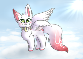 Up above the clouds by snowgraywhite