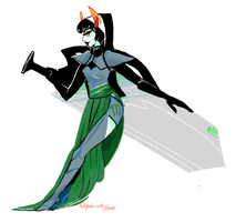 rpgstuck kanaya by dangerscissor
