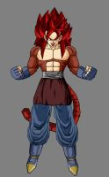 Vegetto gt ssj4 by theothersmen