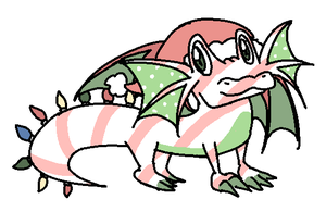 CHRISTMAS DRAGON by couch-san