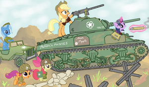 Applejack's M4 Sherman by ColorCopyCenter