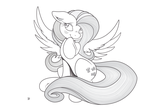 I'm Fluttershy Vector by MidwestBrony
