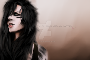 Andy Biersack by The13th-Warrior