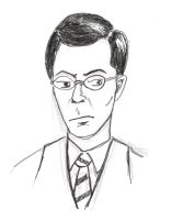 Stephen Colbert by MShades