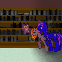 Book Shopping With The Sisters by Bringmetohell