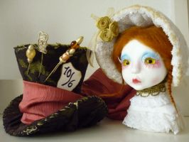 Little Me and Mad Hatters Hat by SoDarkSoCute