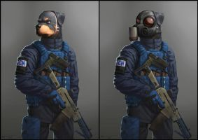PMC rottie by stucat