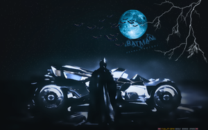 BATMAN: ARKHAM KNIGHT BATMOBILE (2) by CSuk-1T