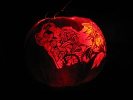 Kingdom Hearts Pumpkin 2 by TheMadRoman