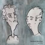 Ugly cartoon faces by SpyroConspirator