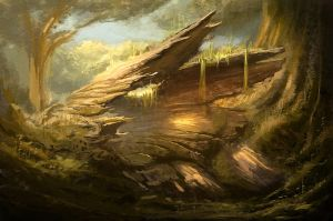 Forest Log by MeckanicalMind