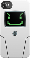 Jailbot iPhone Case by adorpheus