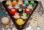 Cupcake Billiards by pinkcakebox