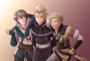 The Boys by SaBasse