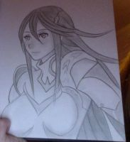 Cordelia from Fire Emblem: Awakening by Rinni-Boo