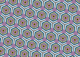Colored tiling by Patterns-stock