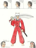 Inuyasha for Paty by VJMorales