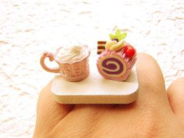 Chocolate Gourmet Cake Ring by souzoucreations