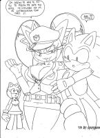 Honey the police officer by dreamcastzx